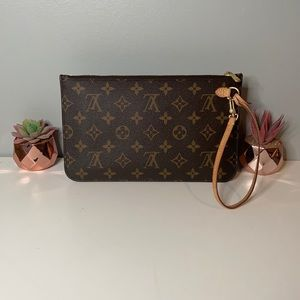 Authentic Louis Vuitton Clutch for Neverfull